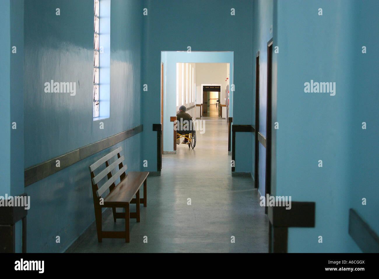 contagious disease hospital - Stock Image