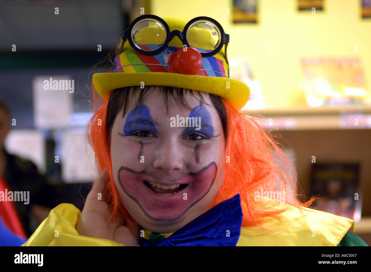 Carnival Karneval Clown Kid Boy Youth Male Lad Funny Humour Comic