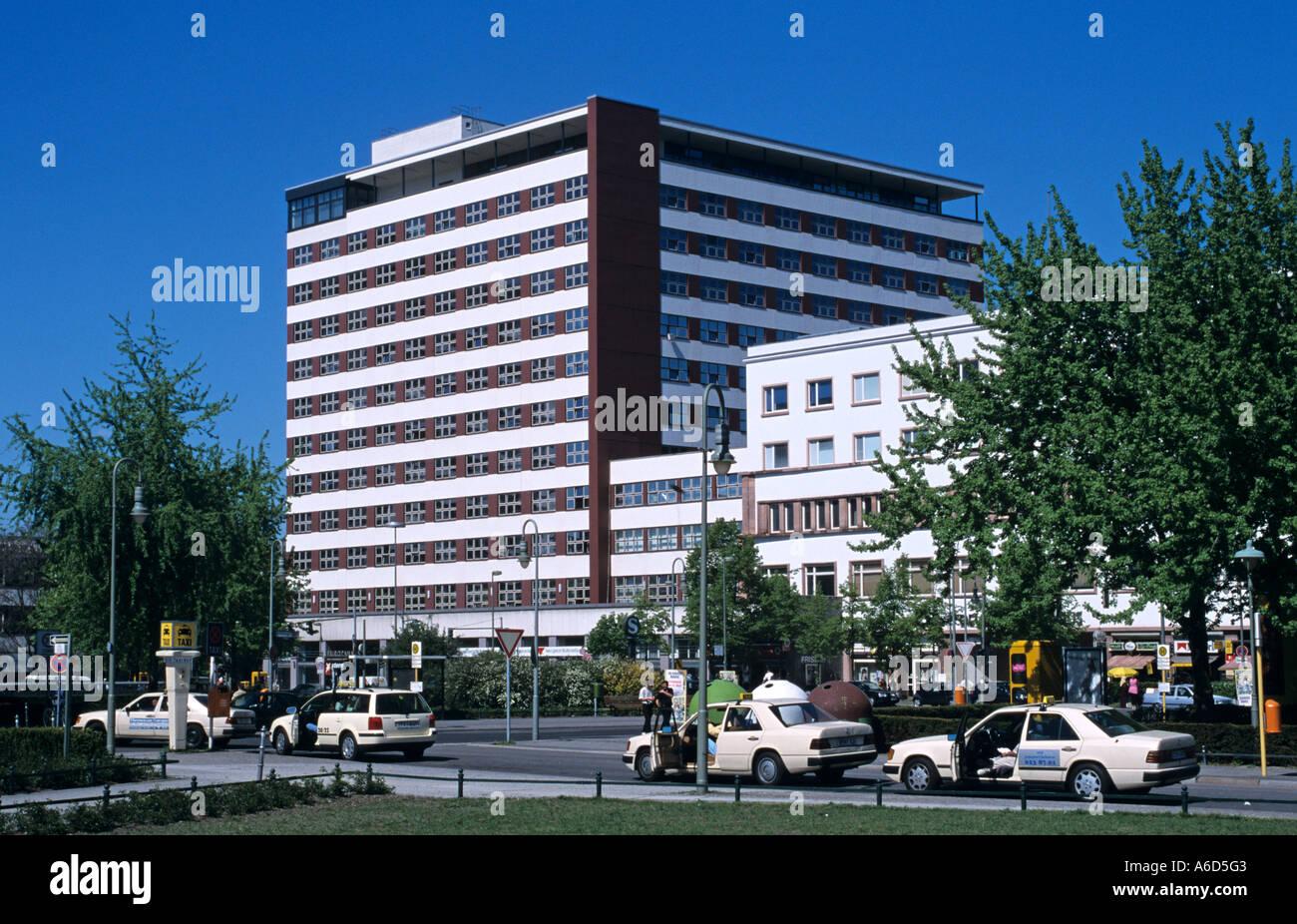 Berlin Friedrichshain Kreuzberg Bundesministerium fuer wirtschaftliche Zusammenarbeit und Entwicklung Stock Photo