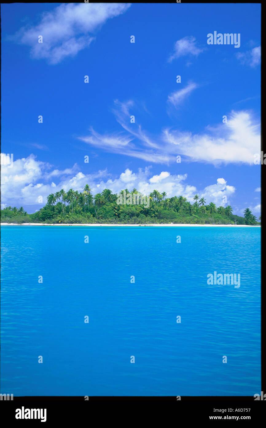 Rangiroa French Polynesia - Stock Image