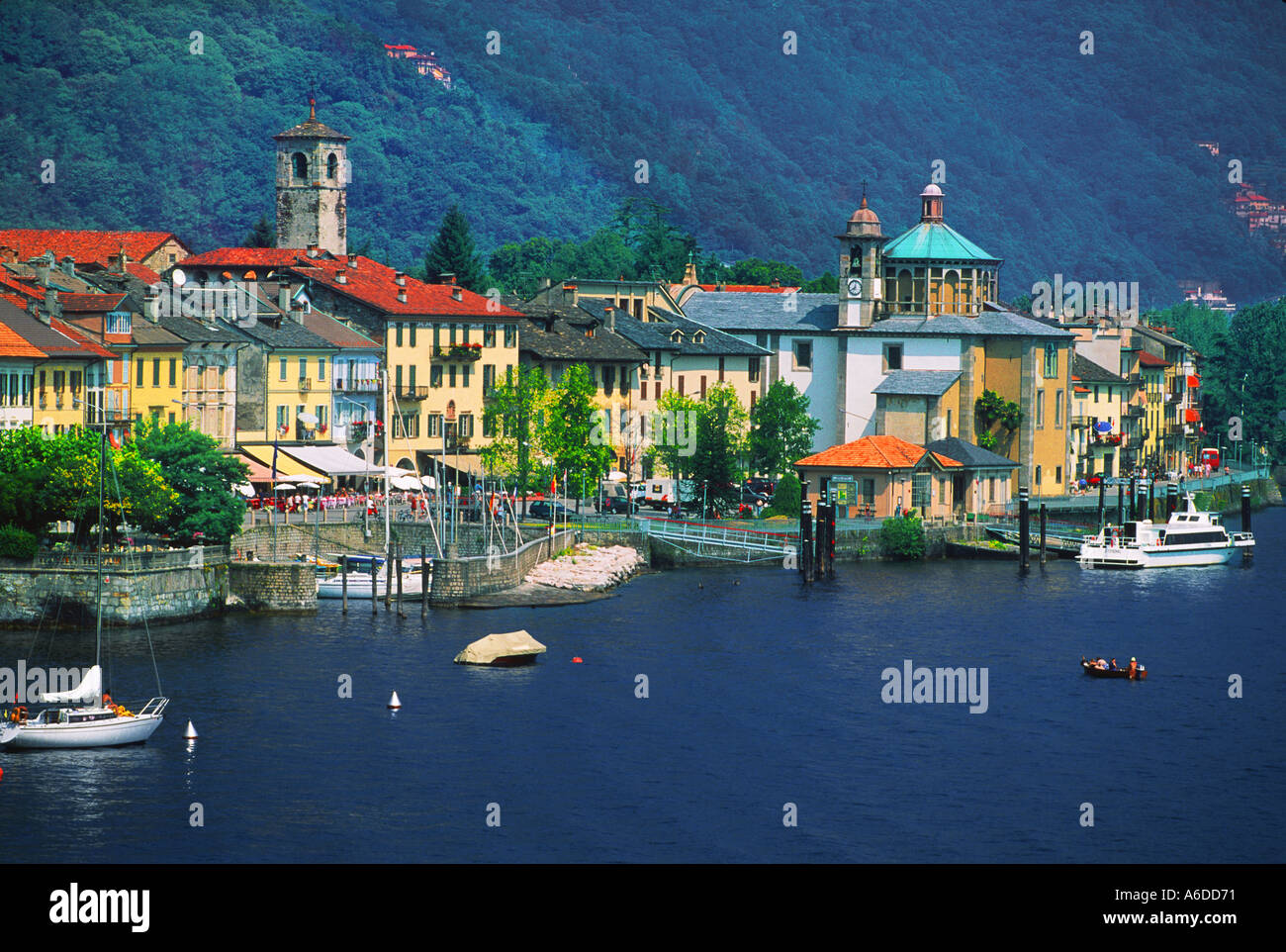 cannobio lago maggiore italy stock photo 449905 alamy. Black Bedroom Furniture Sets. Home Design Ideas