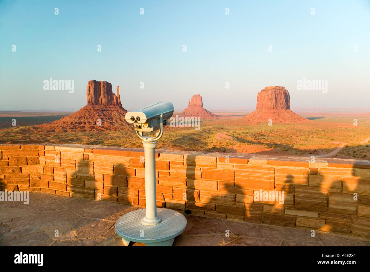 Monument Valley Visitors Center Monument Valley Utah Stock Photo