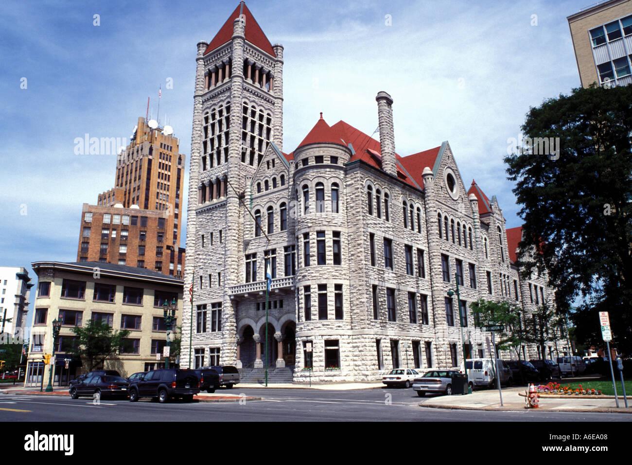 AJ7641, Syracuse, NY, New York - Stock Image