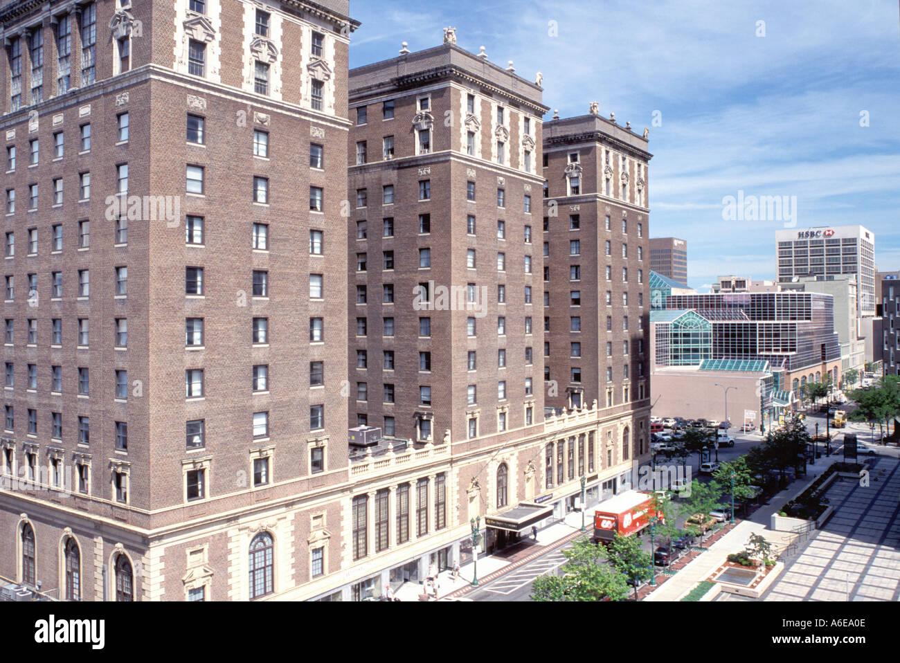AJ7645, Syracuse, NY, New York - Stock Image