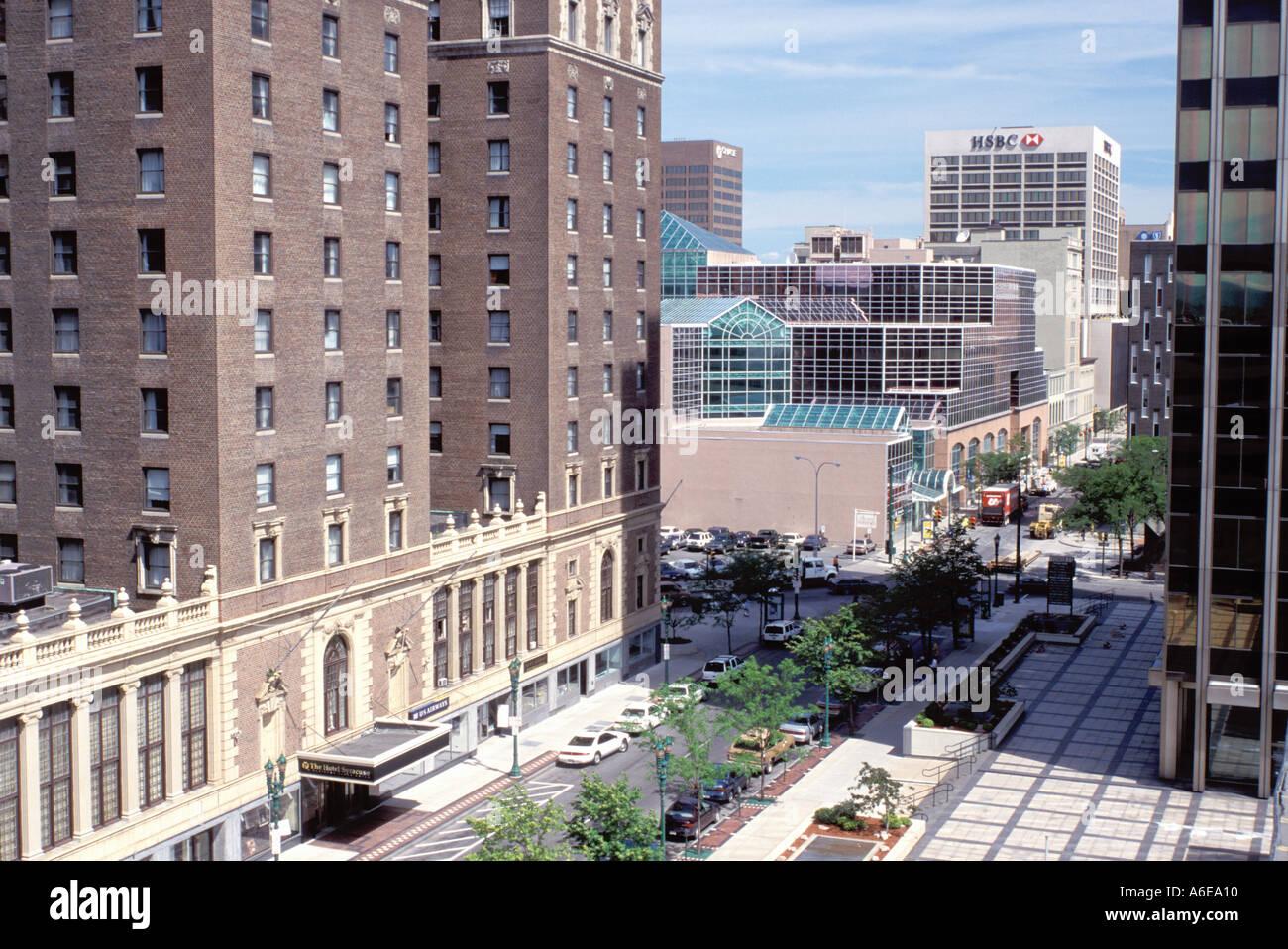 AJ7646, Syracuse, NY, New York - Stock Image