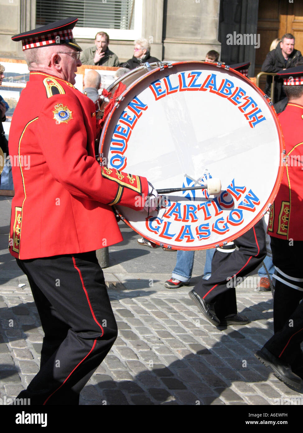 The Orange Order parade through Edinburgh on the 24th March 2007 - Stock Image
