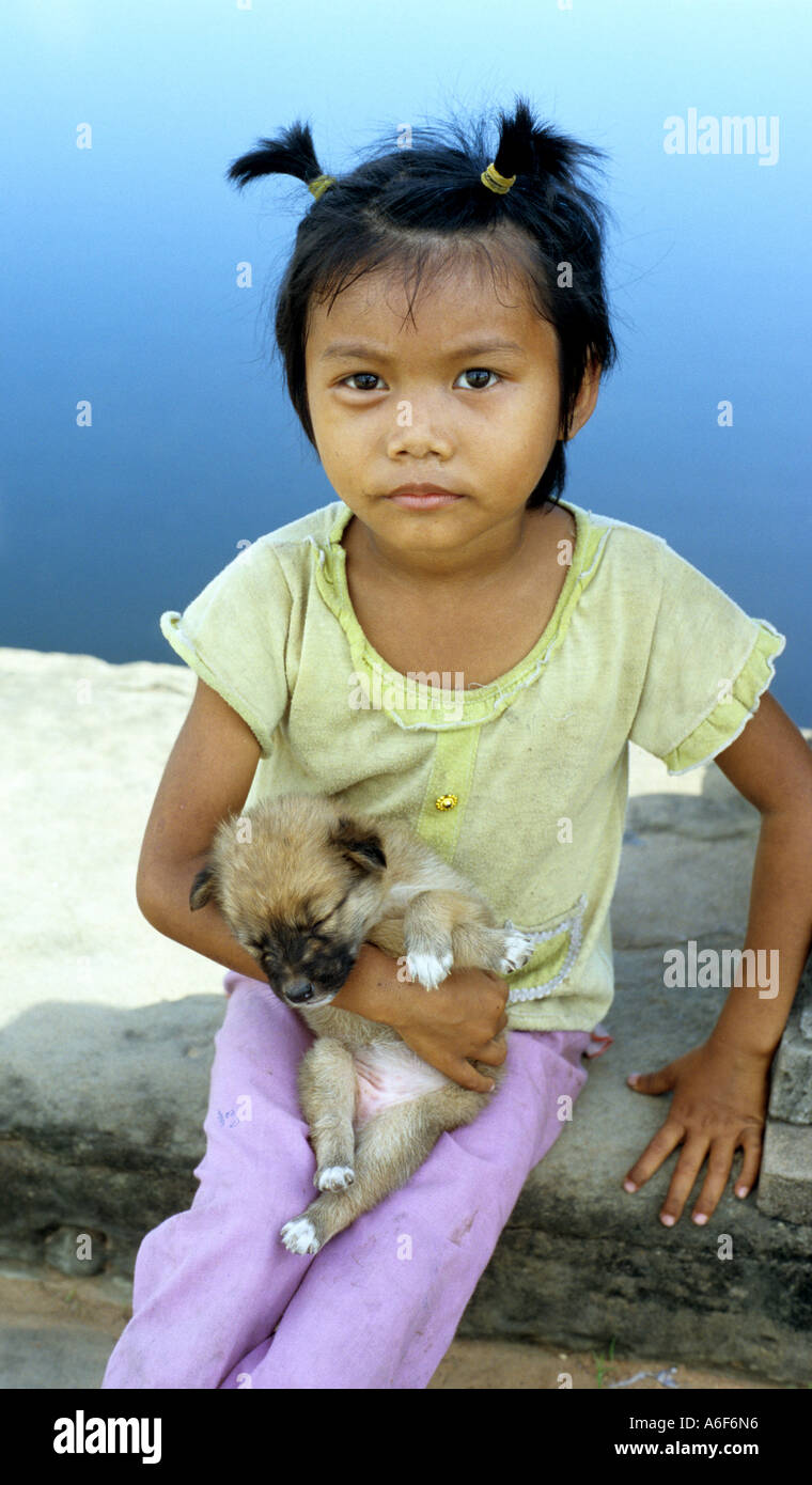 Little Cambodian Girl High-Res Stock Photo - Getty Images