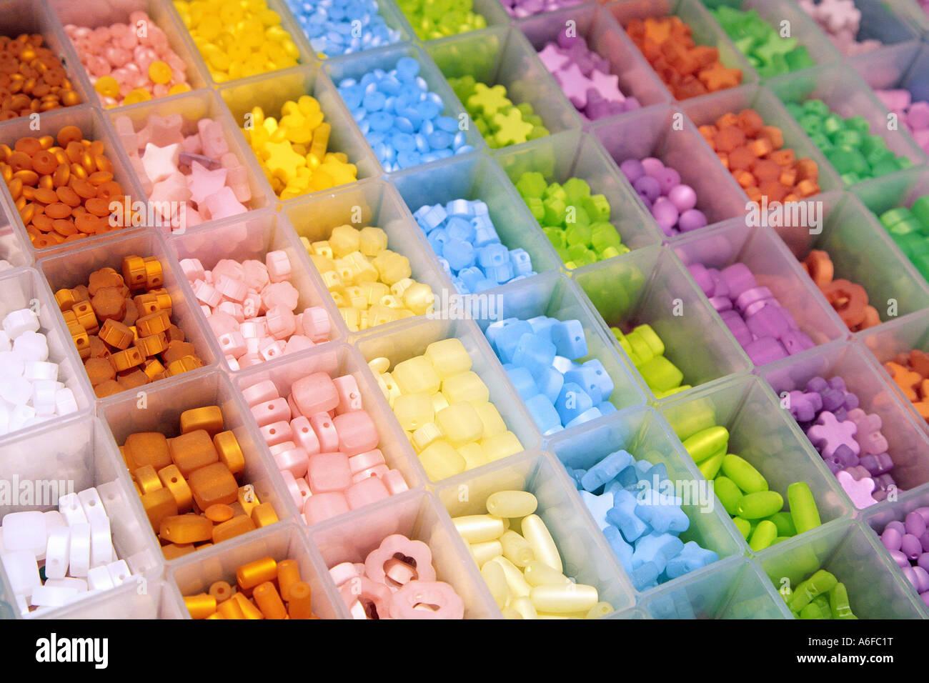 gemstones Schmucksteine - Stock Image