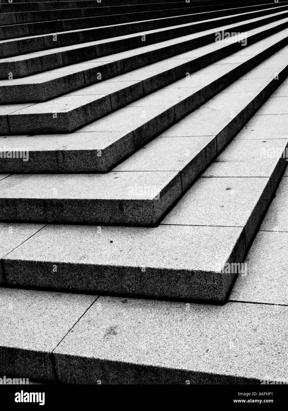 Steps London - Stock Image