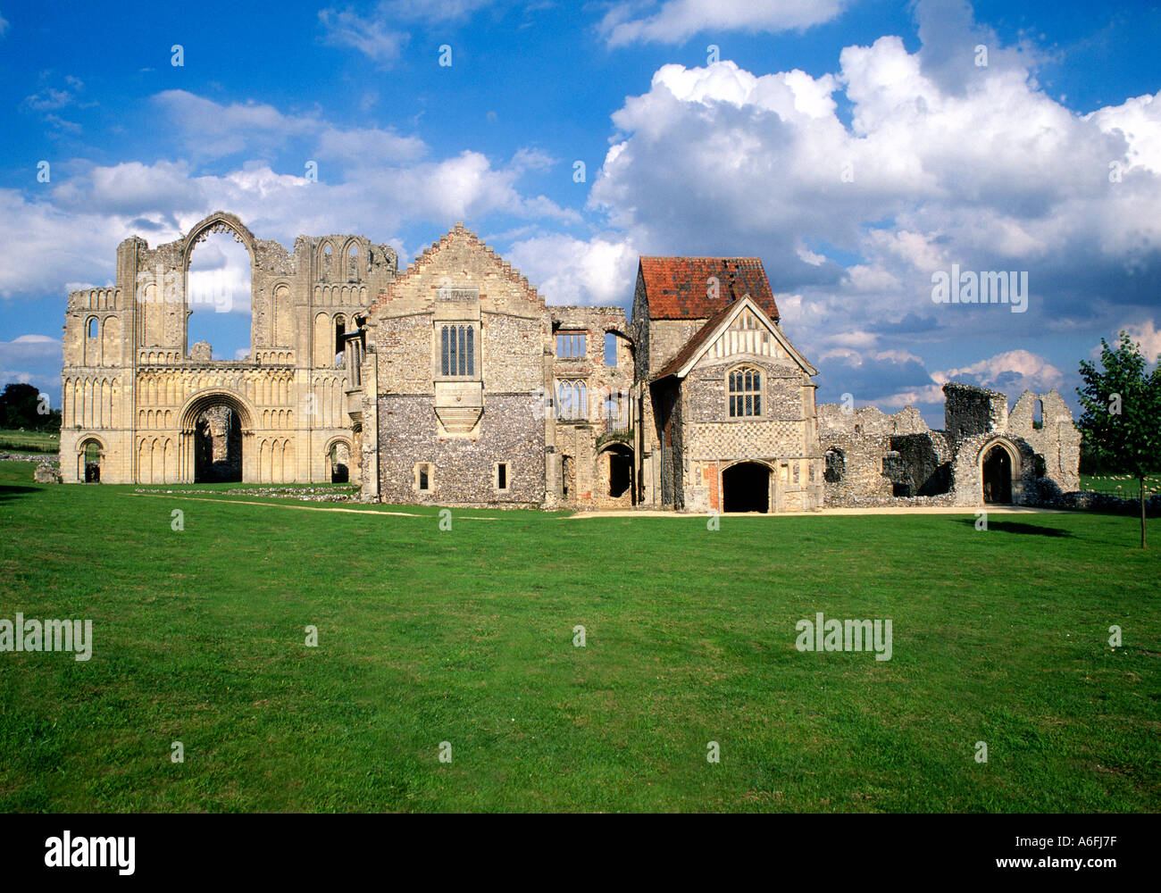 Castle Acre Priory Norfolk Castle Acre East Anglia England Uk