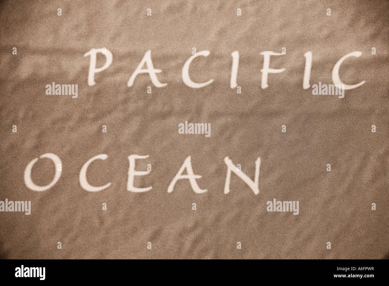 Pacific Ocean - Stock Image
