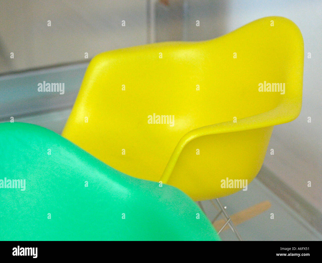Miniature Eames rocking chair 1 Stock Photo