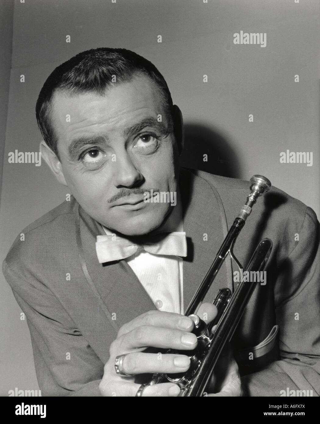 EDDIE CALVERT UK trumpet player 1922 to 1978 - Stock Image