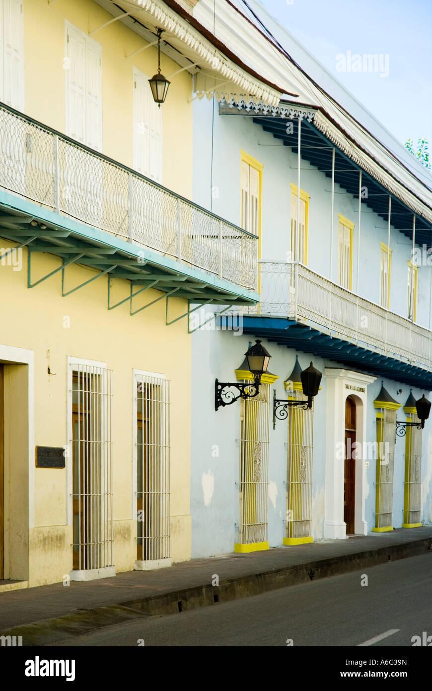 Academia Dominicana de le Historia, La Medicina y La Lengua, Calle Mercedes, Colonial Zone, Santo Domingo, Dominican Stock Photo