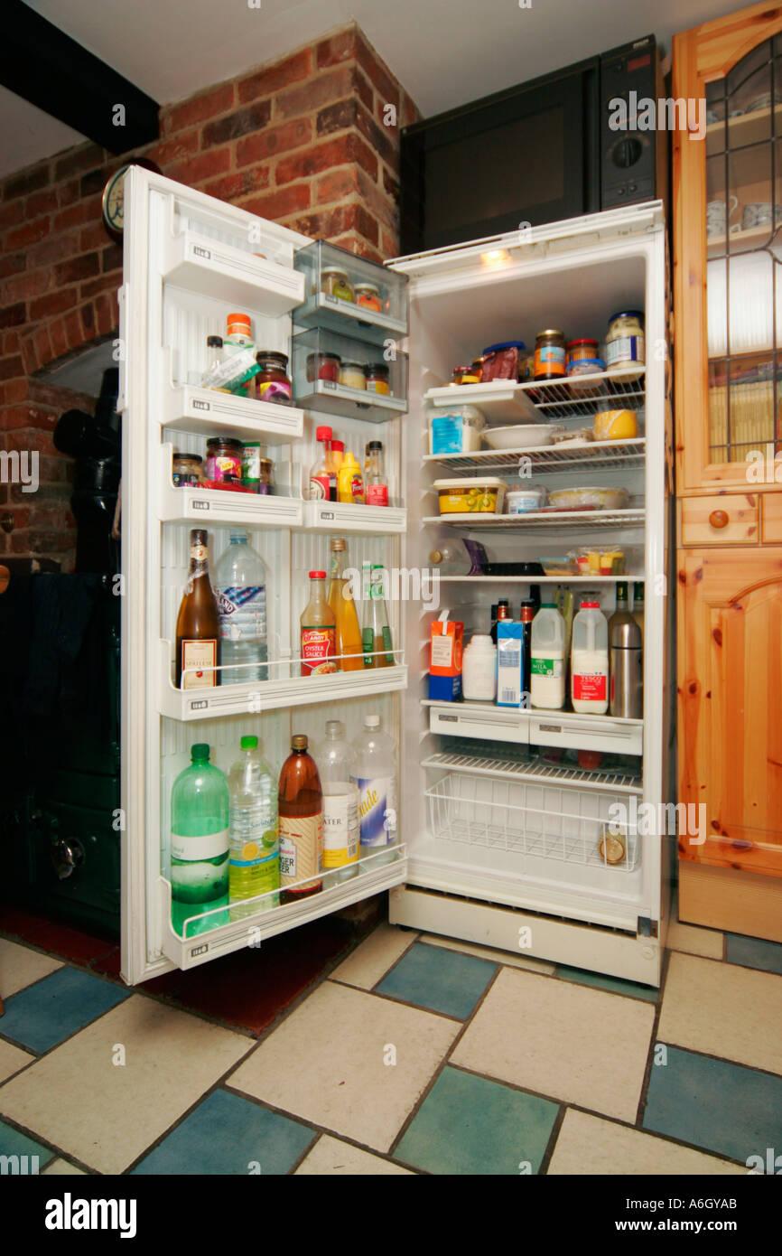 Upavon Wiltshire England UK Fridge refrigerator refrigerate