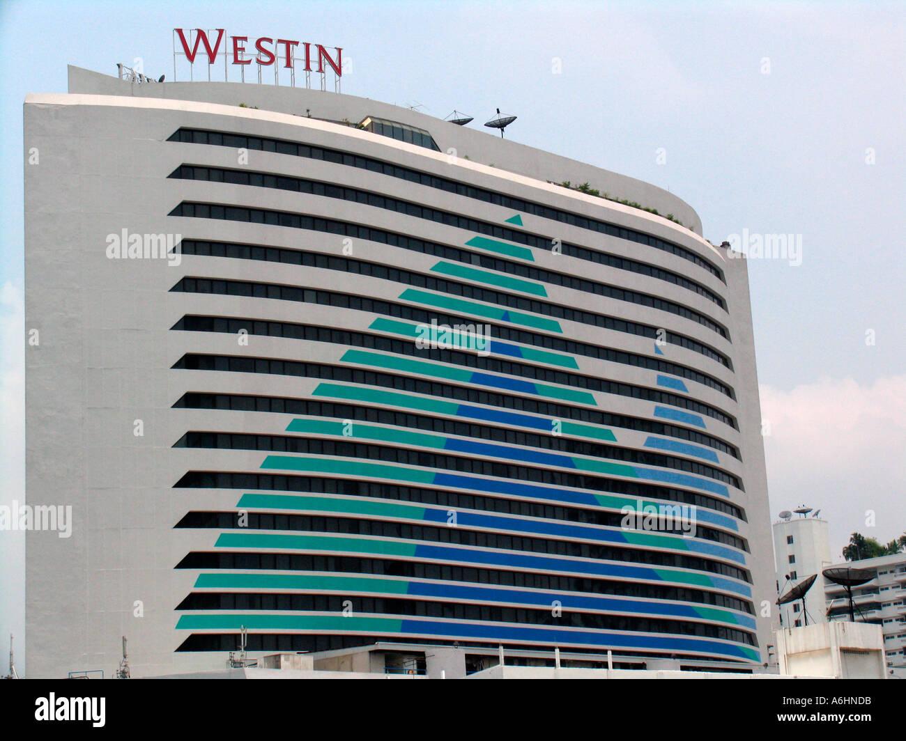 Westin Grande Sukhumvit Luxury Hotel Bangkok Thailand Stock Photo