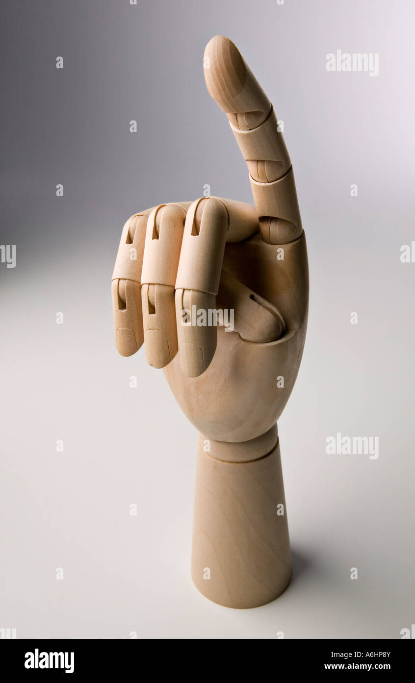 Index Finger 01 - Stock Image