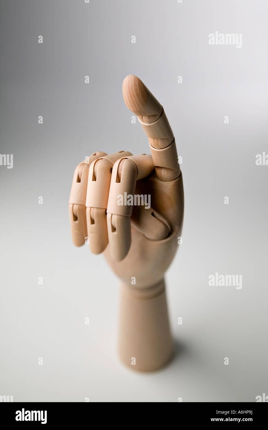 Index Finger 13 - Stock Image