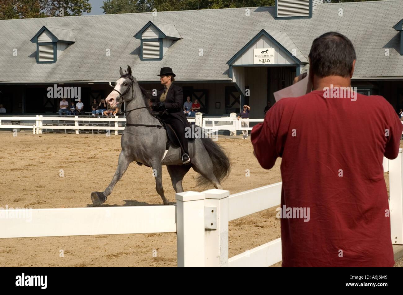 Show Event at Kentucky Horse Park, Lexington, Kentucky Stock Photo