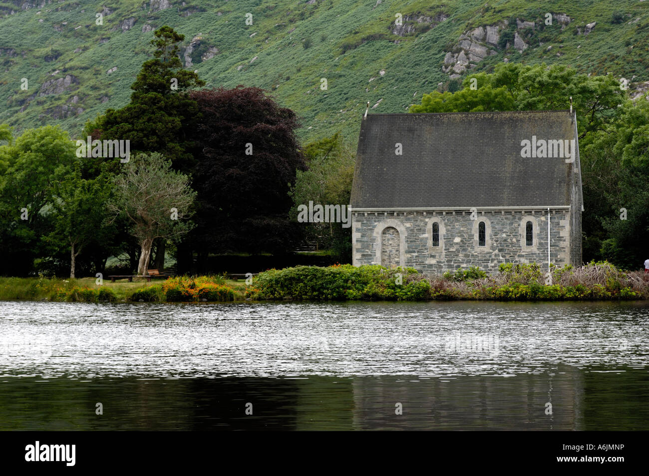 Gougane Barra West Cork Ireland - Stock Image