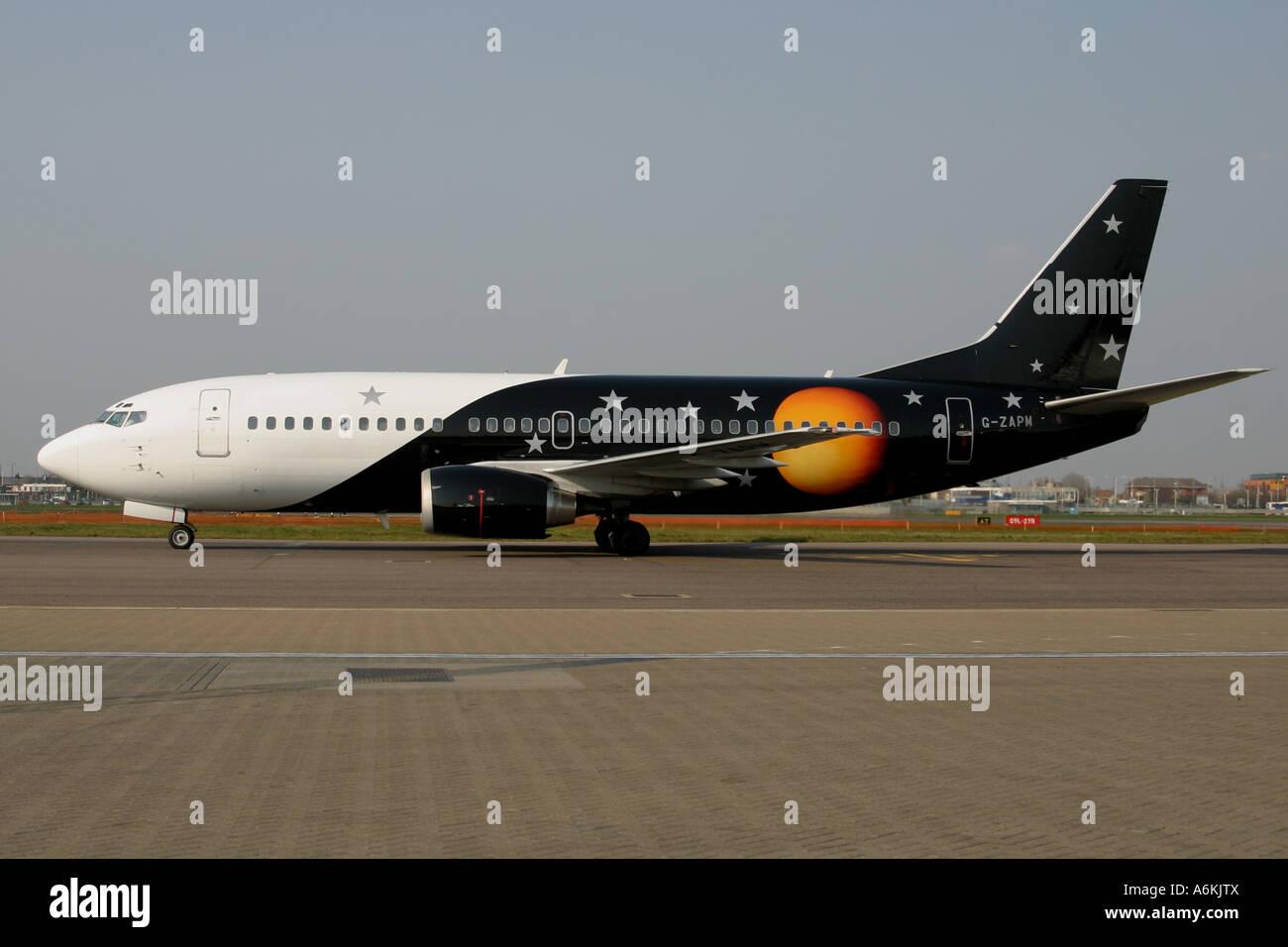 TITAN AIRLINES - Stock Image