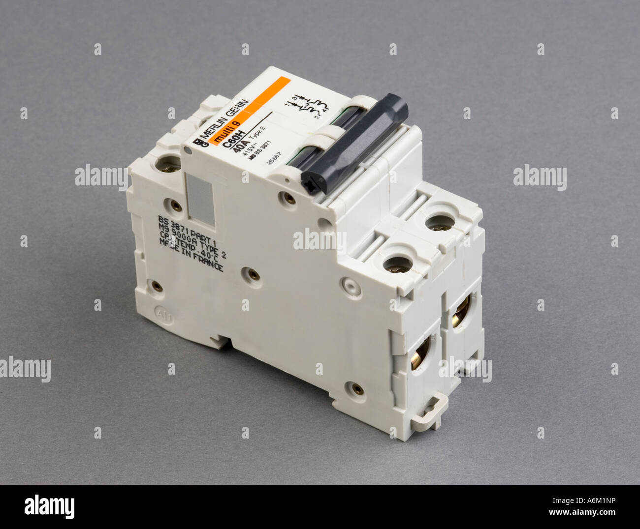 current overload circuit breaker Stock Photo: 11603793 - Alamy