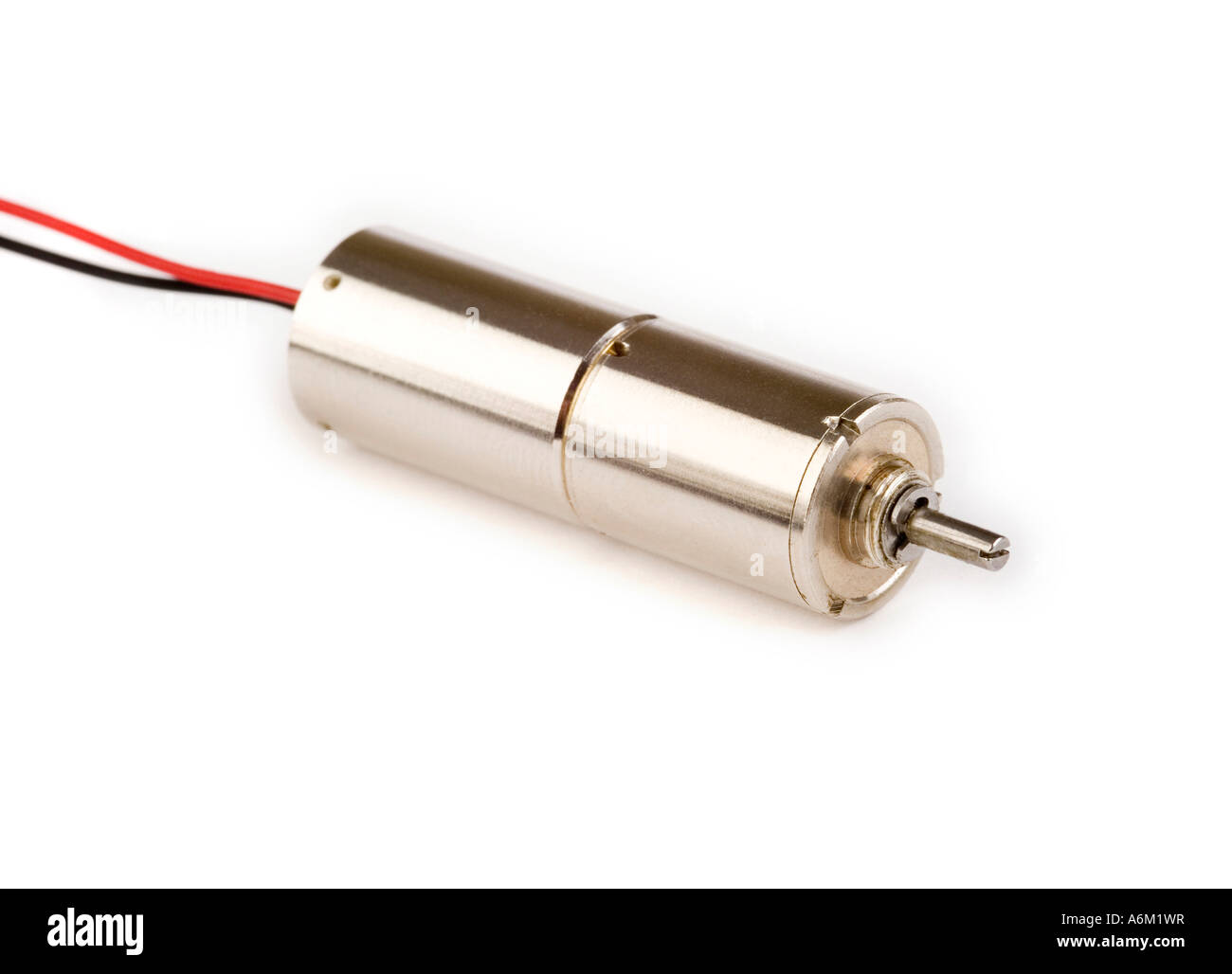 Tiny Dc Electric Motor With Gearbox Stock Photo 11603842 Alamy Electronic Fuse