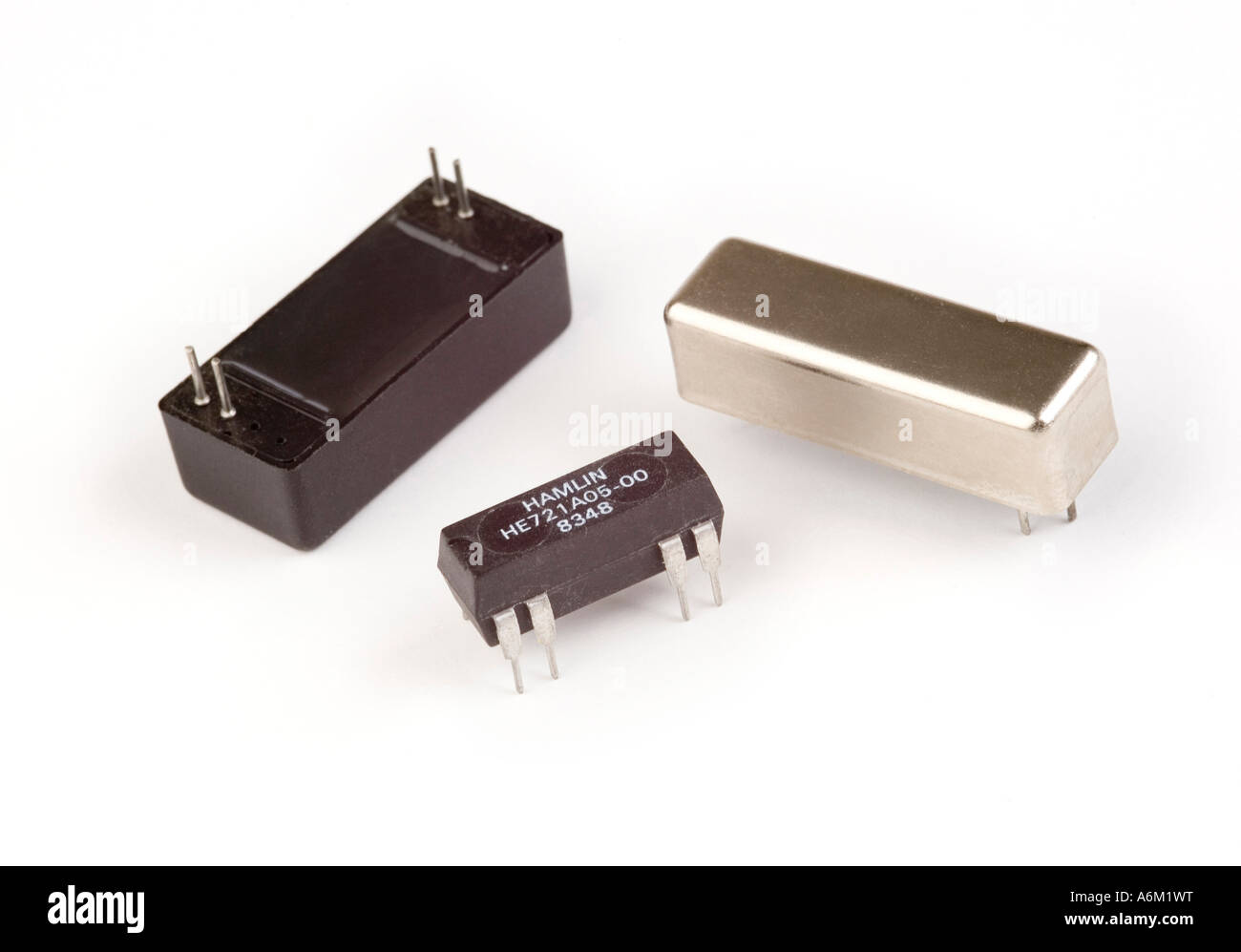 Magnetic Reed Switch Changeover Stock Photos Relay Selection Of Relays Image