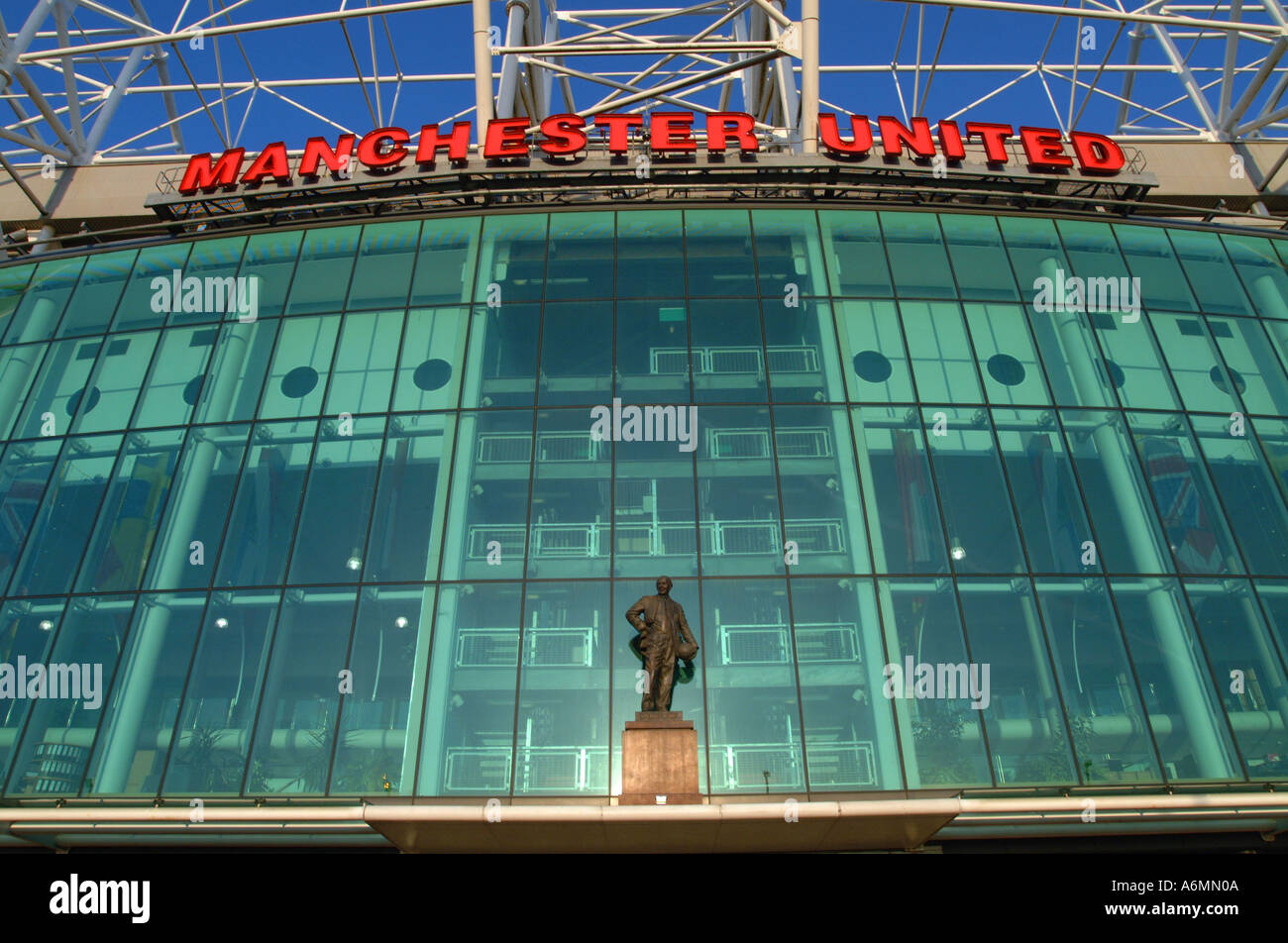 Manchester United Football Ground High Resolution Stock Photography And Images Alamy