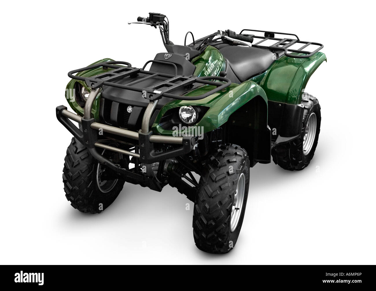 Yamaha ATV YFM 660 FWA Grizzly 4X4 - Stock Image