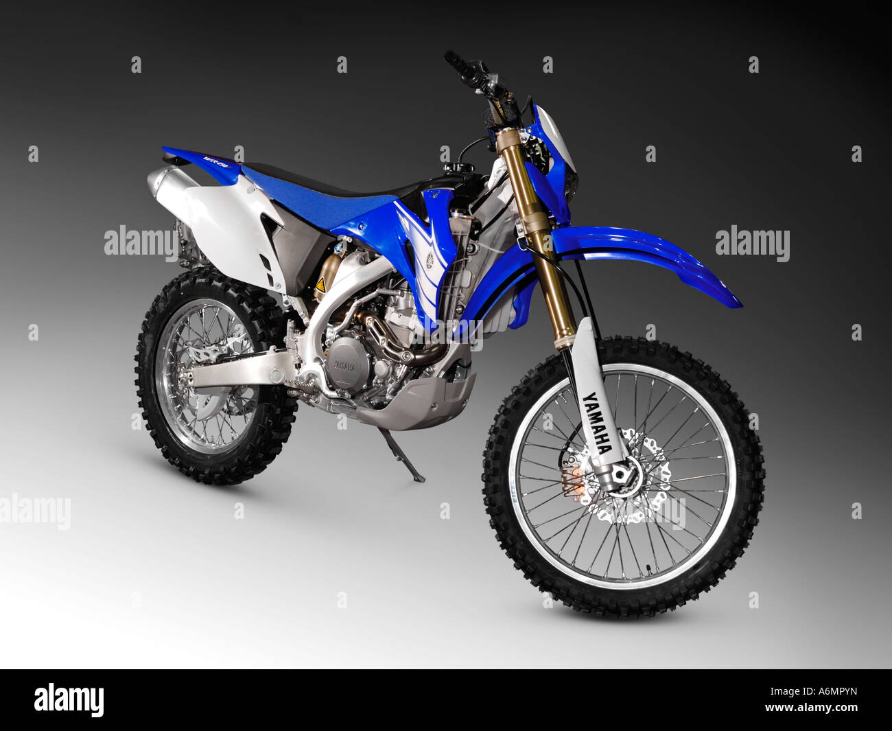 Yamaha YZ 125 2006 bike off road racing motorcycle - Stock Image