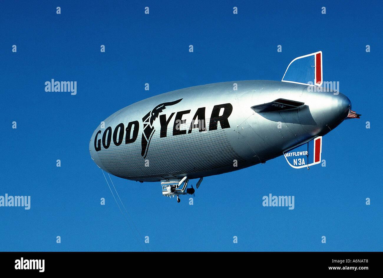 Goodyear Blimp Airship - Stock Image
