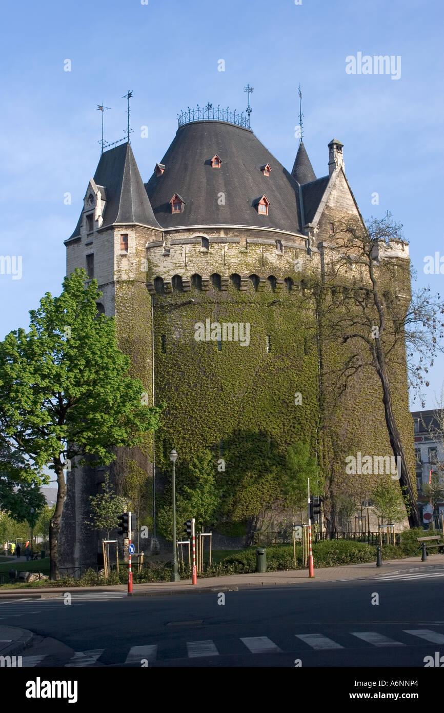 265765ff5c44 Porte de Hal Brussels Belgium Stock Photo  6639907 - Alamy