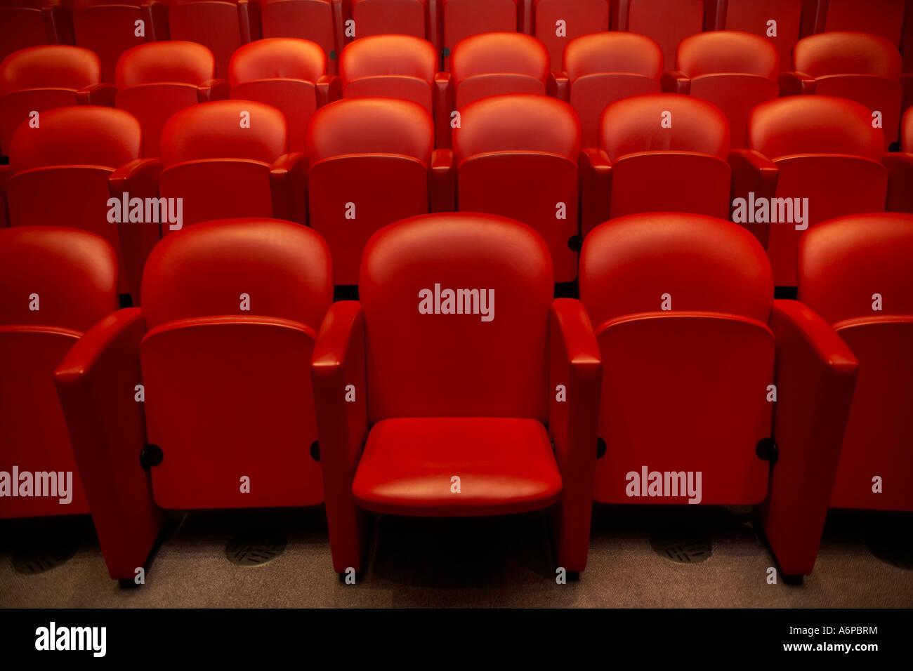 Theatre seats stock photos theatre seats stock images alamy red theatre seats stock image freerunsca Gallery