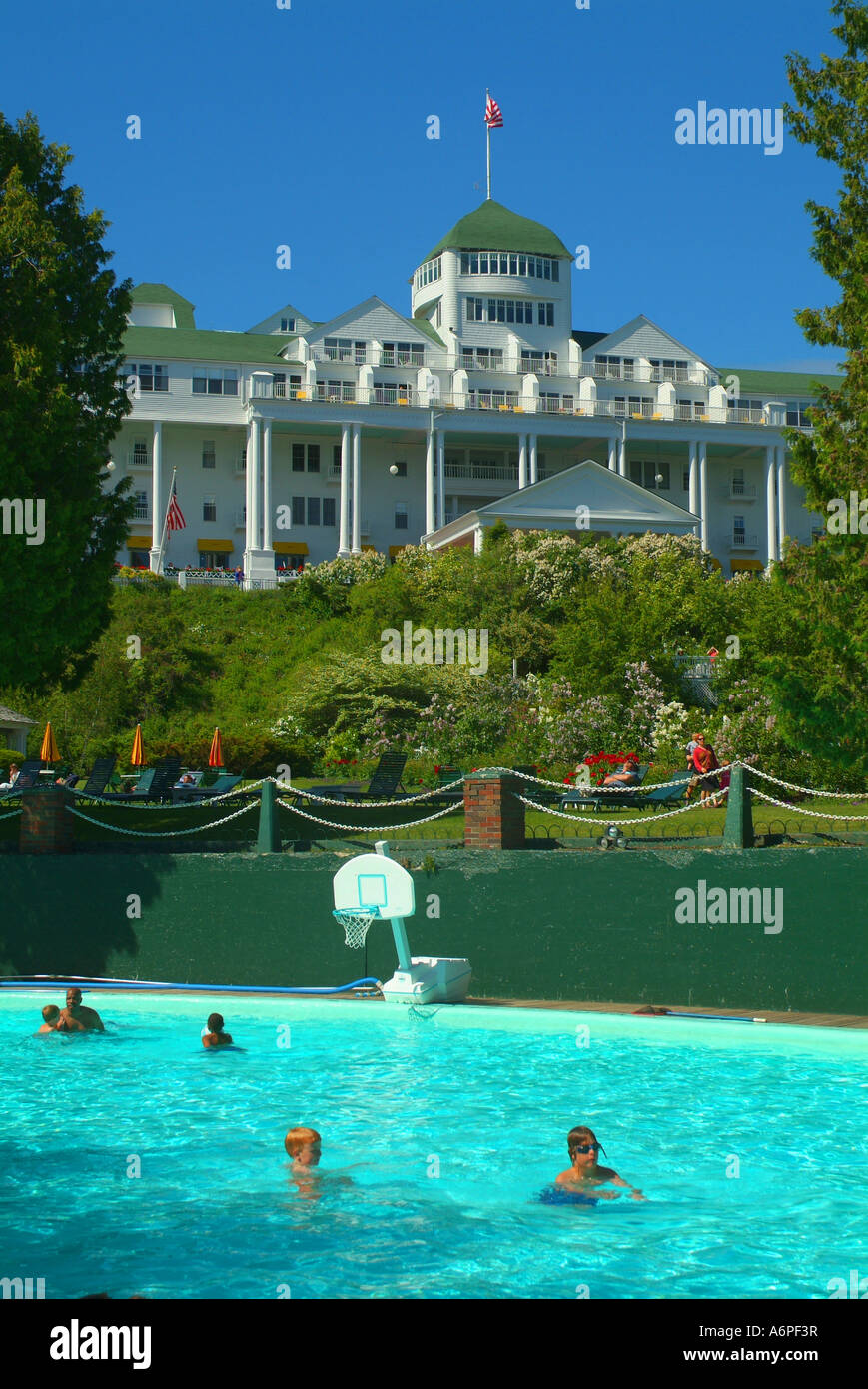 USA Michigan MI Mackinac Island Grand Hotel Ester Williams ...