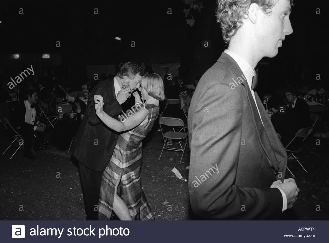 Berkley Square Ball London England 1981. - Stock Image