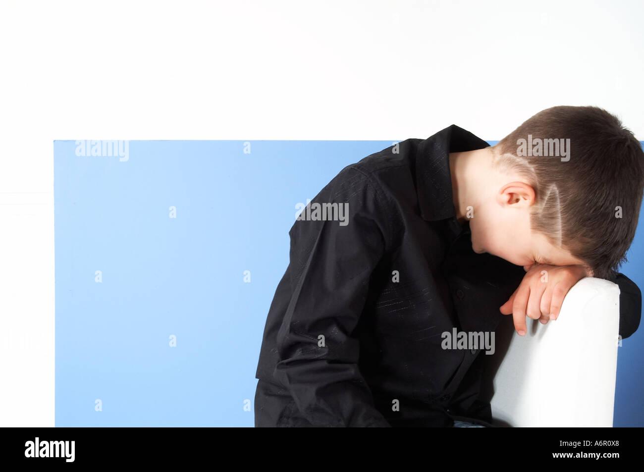 Sulking sulk cry crying tears sad saddness childhood unhappy mood moody child boy kid