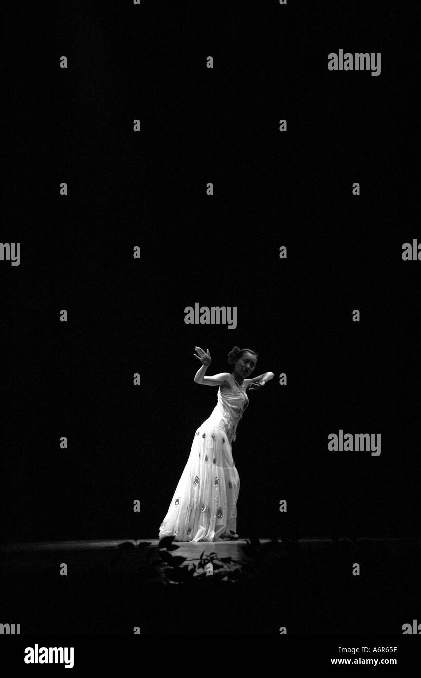 Cultural dance in Kunming Yunnan China Asia - Stock Image