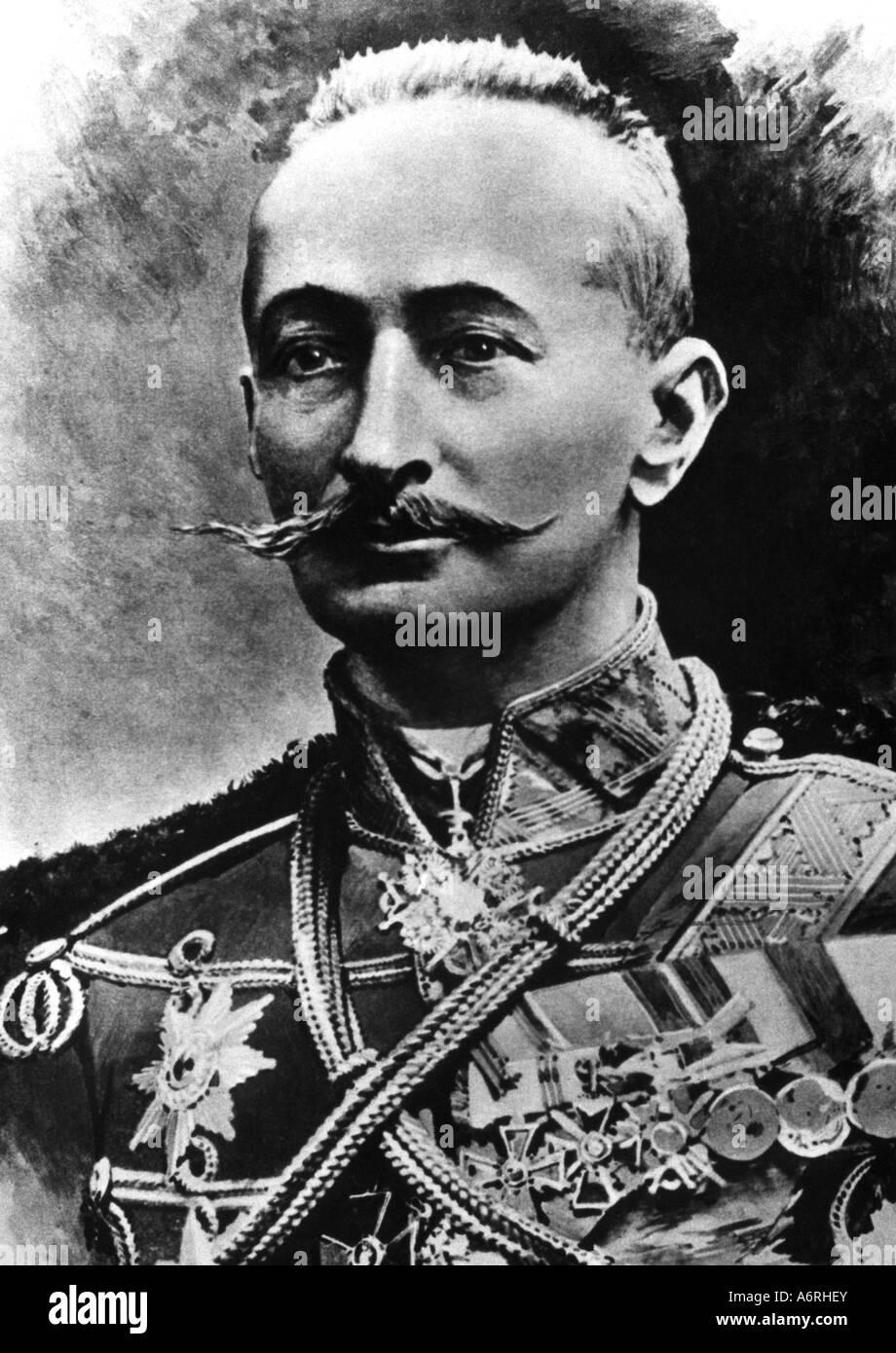 Brussilow, Alexej Alexejewitsch, 19.8.1853 - 17.3.1926, Russian General, portrait, circa 1914, Alexei, Aleksei, - Stock Image