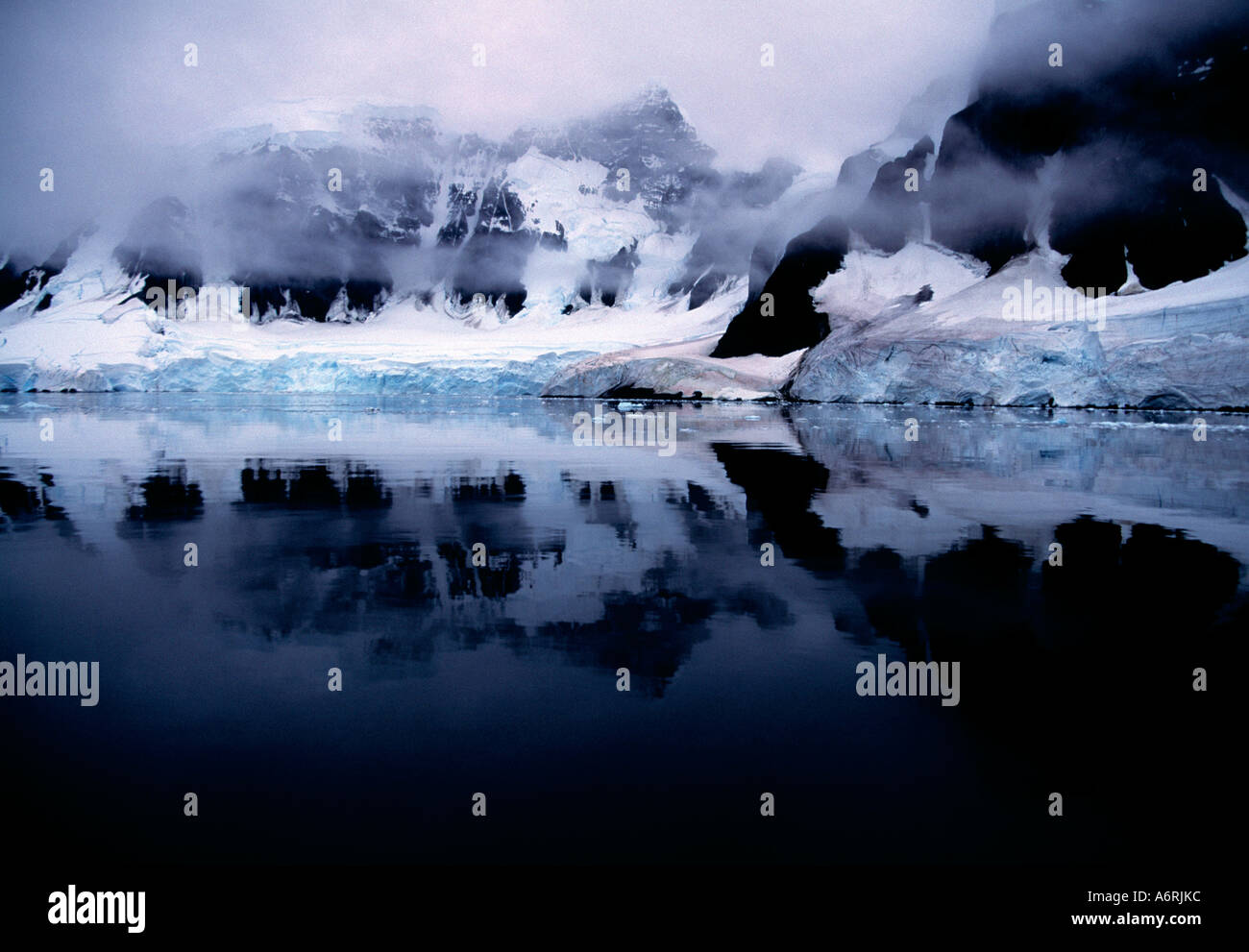antartic antartica,  ice continent,  frozen continent,  cold continent, polar, - Stock Image