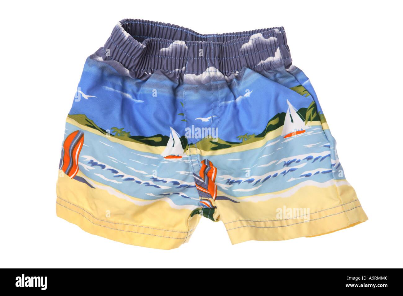 Swimming Trunks - Stock Image