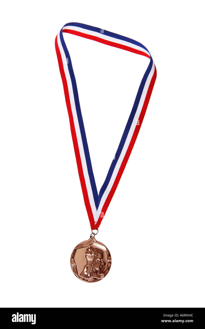 Bronze Medal - Stock Image