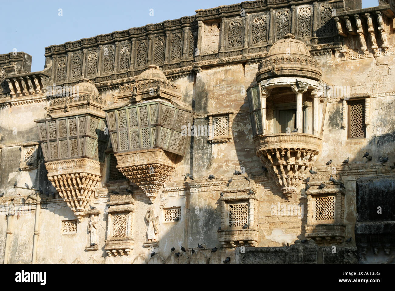 Example Of The Earthquake Damage To The Darbargadh Palace At Bhuj