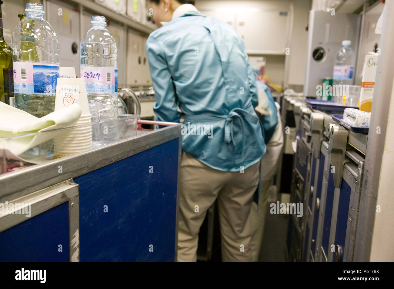 Airline Kitchen Stock Photos & Airline Kitchen Stock Images - Alamy
