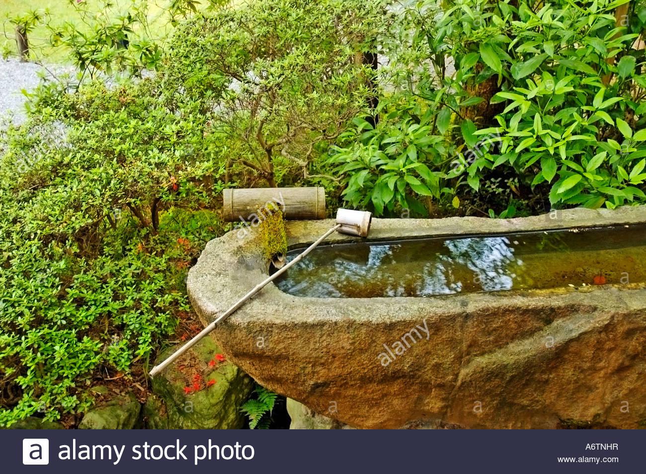 water basin snin temple Kyoto Travel japan garden japanese ...