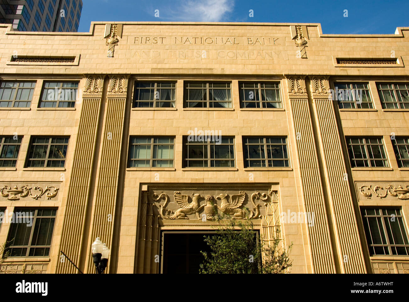 Orlando Florida Fl Downtown Art Deco And Egyptian Revival Building