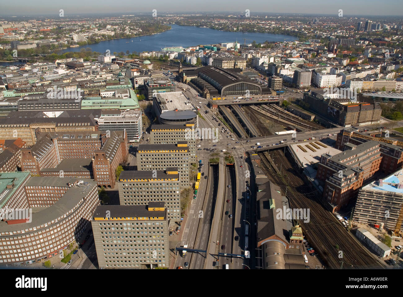 aerial view main station tracks stock photos aerial view main station tracks stock images alamy. Black Bedroom Furniture Sets. Home Design Ideas