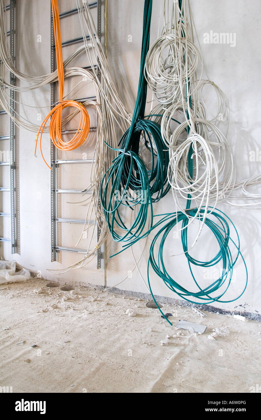 Hanging loose cables Stock Photo: 11650503 - Alamy on