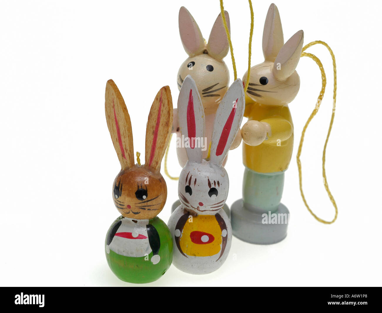 Bunny Family Figure Group Holiday Rabbit Symbol Tinker Tradition