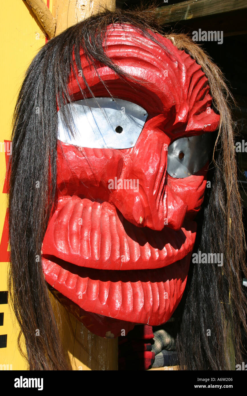 indian mask - Stock Image